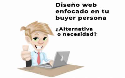 Diseño web enfocado en tu buyer persona. ¿Alternativa o necesidad?