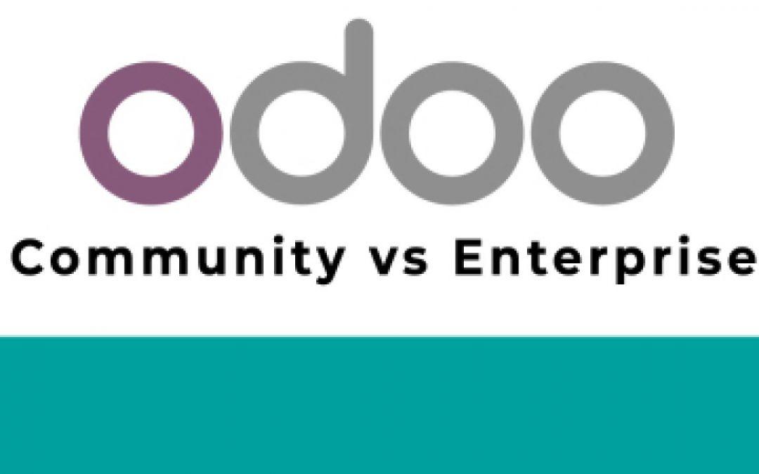 Odoo Enterprise o Community: ¿Cuál es la alternativa que necesita tu pyme?