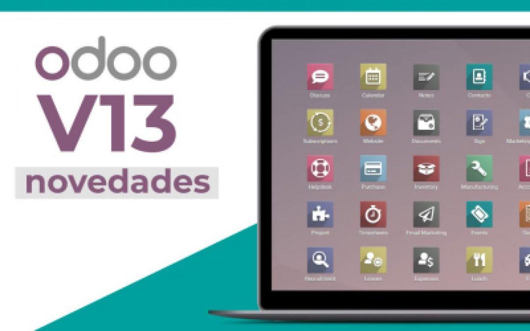 Odoo 13: nueva versión de Odoo ERP disponible para pymes en el mercado.