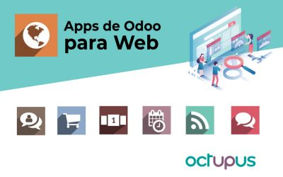 Aplicaciones de Odoo para sitios web.