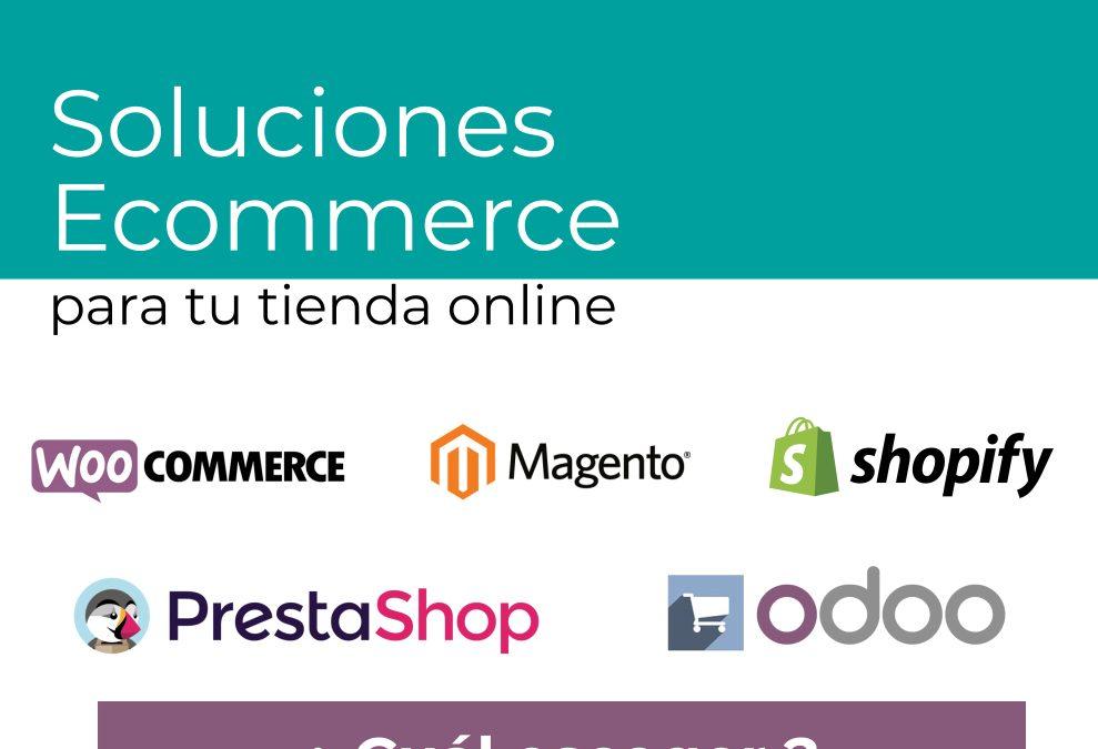 Soluciones ecommerce para tu tienda online ¿Cuál elegir?