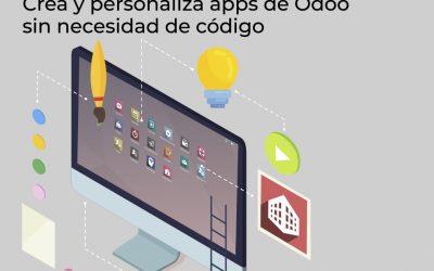Odoo Studio: crea y personaliza apps de Odoo sin necesidad de código.